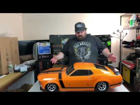 HPI Baja 5R 1970 Ford Mustang Boss RTR Unboxing