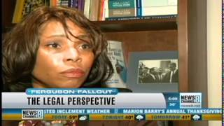 Professor Lenese Herbert - Ferguson Decision - News Channel 8