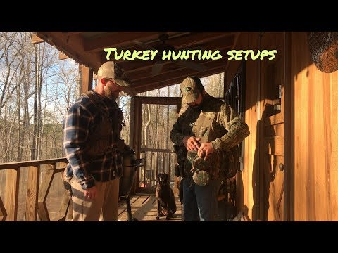 Turkey Hunting Setups