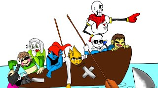 Speed draw the squad / undertale