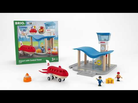 BRIO World - 33883 Airport with Control Tower