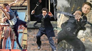 Avengers Cast Performing Their Own Stunts | Avengers Cast Stunt Performances Without Stunt Doubles