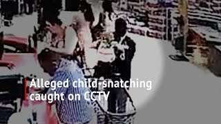 CCTV captures alleged child-snatching in Umhlanga mall