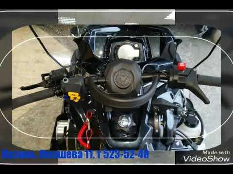 Снегоход RM Vector 551I под капотом (кратко) - YouTube