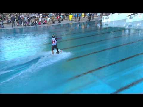 1st Place Wakeboard - Nico von Lerchenfeld GER