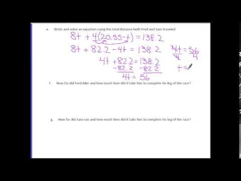 Math 7: Module 3 Lesson 6 Video