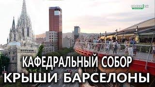 Барселона 3 Ехать надо Крыши Барселоны Кафедральный собор