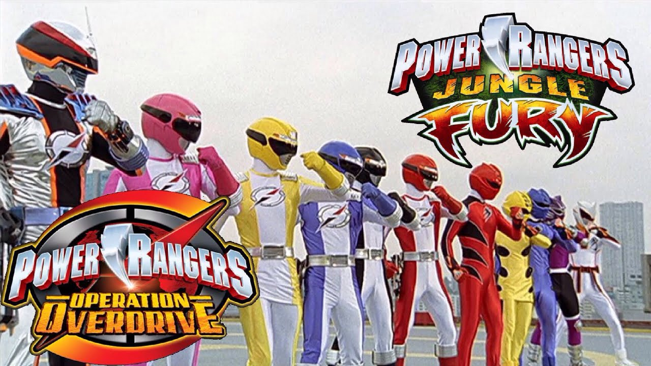 Power Rangers Jungle Fury/Operation Overdrive Team Up