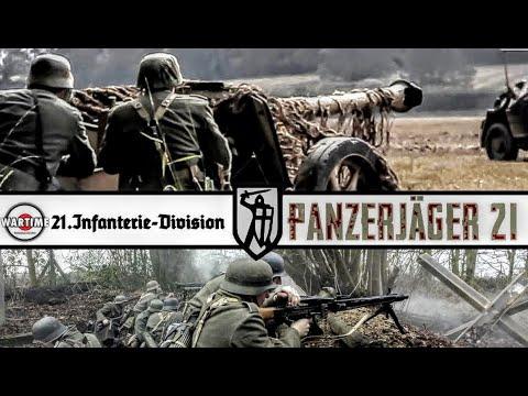 Ww2 German 21.Infanterie Division Panzerjäger-Abteilung 21.