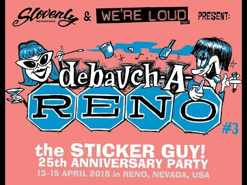Personal and the Pizzas - Debauch-A-Reno 2018 - April 14th, Reno NV