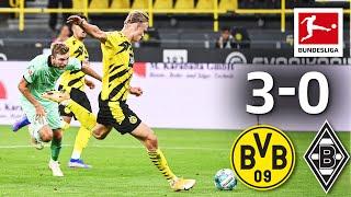 Haaland brace secures victory for BVB! Dortmund - M'gladbach 3-0 | Matchday 1 – Bundesliga 2020/21