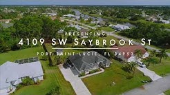4109 SW Saybrook St, Port Saint Lucie, FL Real Estate - Richard McKinney www.stlucierealestate.com