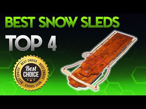The 9 Best Snow Sleds