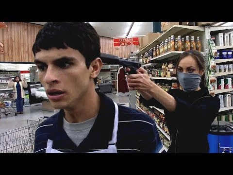 【喵嗷污】超市遭绑匪劫持,顾客接连惨死,警察知道真相后反而去帮助绑匪