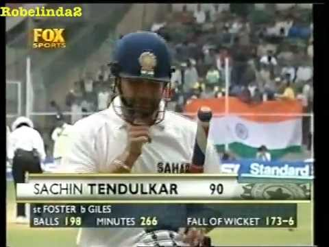 Sachin Tendulkar brain explosion, dismissed by Ashley Giles, I smell match fixing......