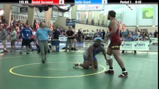 Men`s Freestyle 125 KG Daniel Garwood vs. Justin Grant