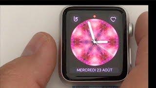 watchOS 4 : Les nouveautés - Le test en français