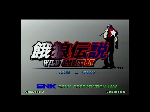 Fatal Fury  wild ambition  PS&HyperNeoGeo64 All desperation techniques