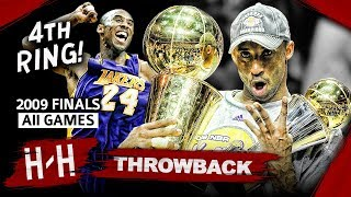 Kobe Bryant 4th Championship, Full Series Highlights vs Magic (2009 NBA Finals) -  Finals MVP! HD