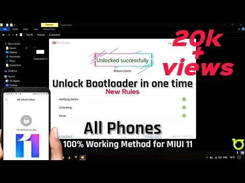 How to Unlock  Bootloader in Xiaomi device Without PC || Nor Root access| Just few minutes🔥.