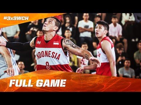 Slovenia vs Indonesia - Full Game - 2016 FIBA 3x3 World Championships