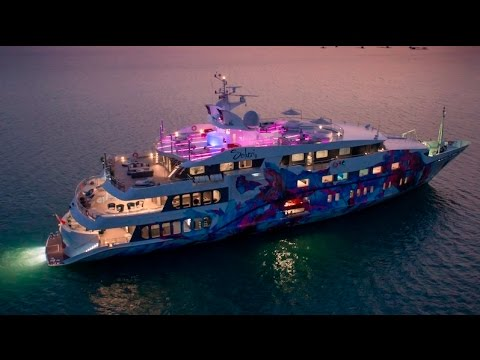 The Outstanding Sensational Saluzi Luxury Yacht