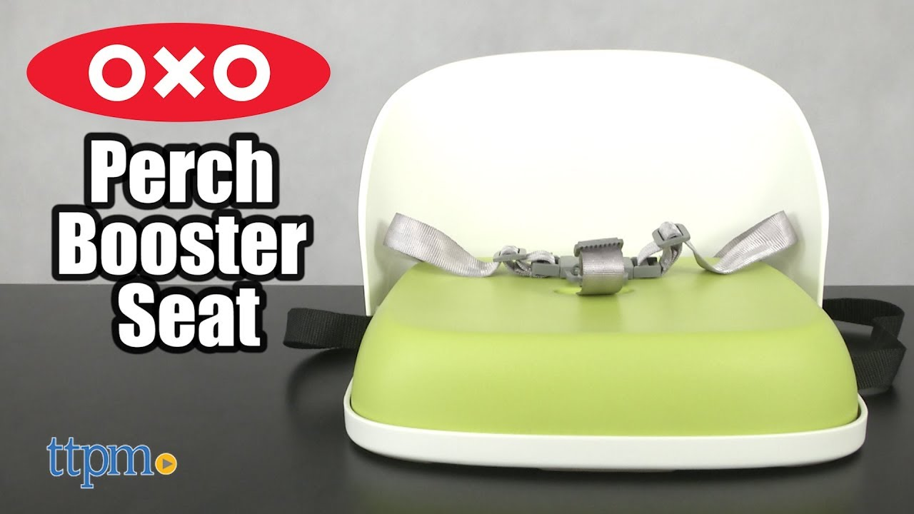 4853b3301ce0 OXO Tot Perch Booster Seat with Straps from OXO International - YouTube