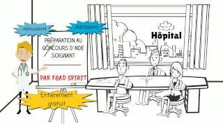 Préparation au concours d'entrée en école d'aide soignant par Foad Spirit