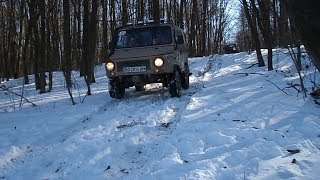 ЛУАЗ VS УАЗ VS ГАЗ-69 VS НИВА. Winter OFFROAD 4x4 The Best Soviet  Offroaders)
