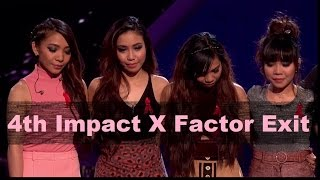 4th Impact's X factor Exit | People react