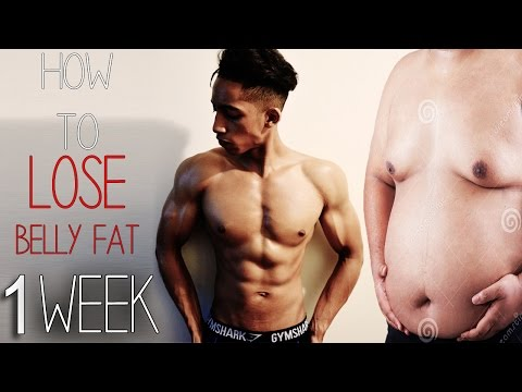 How To Lose Belly Fat In 1 Week! (Kids, Teenagers, Adults)=+