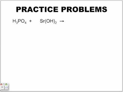 neutralization (chemistry)