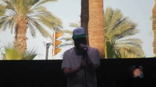 "Francis and the Lights + Justin Vernon ""Thank You"" @ Coachella Gobi Tent April 21, 2017"