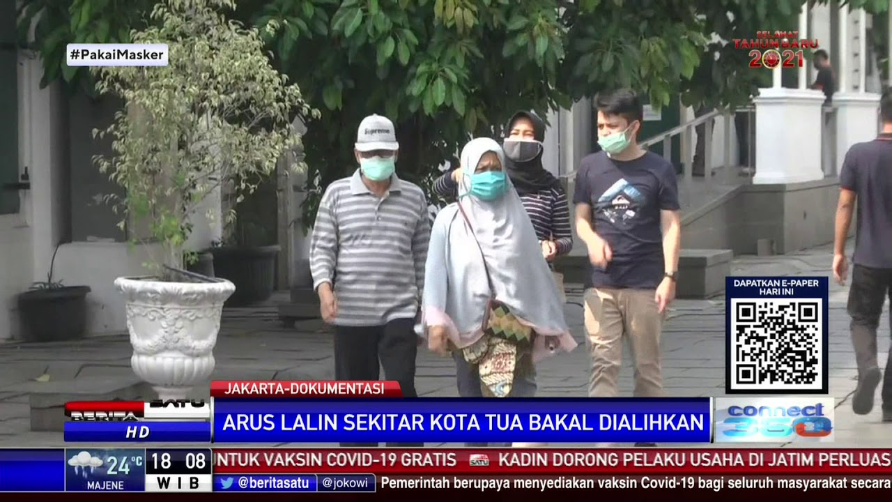 Kawasan Kota Tua DKI Jakarta Diberlakukan Low Emission Zone