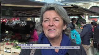 Versailles : Un carré bio au marché Notre-Dame