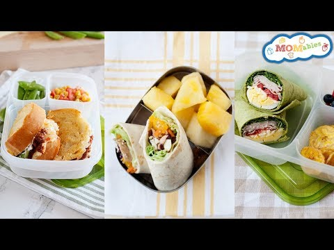 School Lunch Ideas for Teenagers - Healthy, Fast and Easy Lunch Recipes!