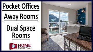 Improving Open Concept Designed Homes with Dual Space Rooms, Pocket Offices & Away Rooms