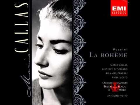 Mimi! Speravo Di Trovarvi Qui - Maria Callas Feat Rolando Panerai (HQ)