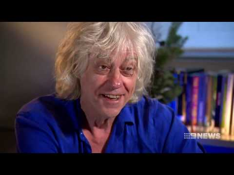 Sir Bob Geldof | 9 News Perth
