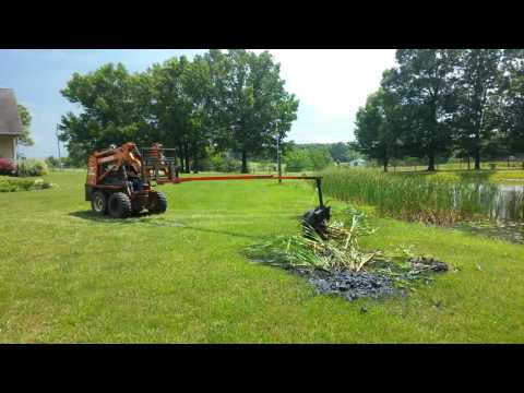 Removing Cattails With The CatMaster 2000