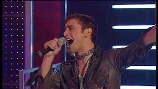 Idol 2005: Måns Zelmerlöw - Relight my fire - Idol Sverige (TV4)