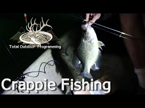 How To Catch Crappie At Night Using A Light, Night Time Pan Fishing Tips