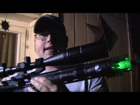 VASTFIRE Green Hunting Flashlight Review - Texas Tested