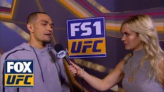 Yancy Medeiros talks to Laura Sanko   WEIGH-IN   UFC FIGHT NIGHT