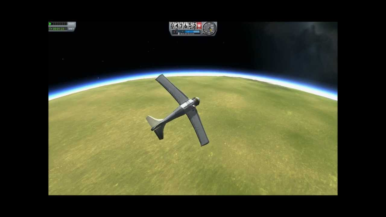 Kerbal Space Program 0.16: EVA Surviving a fall test - YouTube