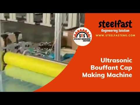 Ultrasonic Bouffant Cap Machine Process