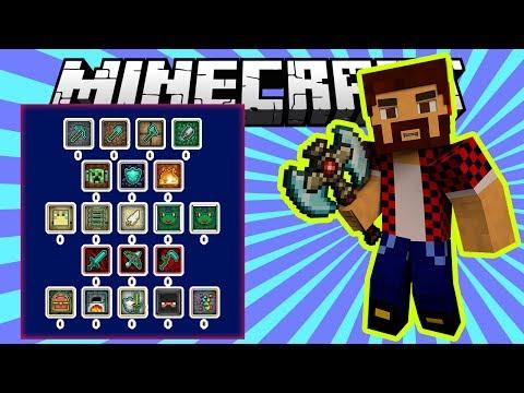 Прокачка Навыков как в РПГ (Goki Stats Mod) - Обзор модов Minecraft # 87