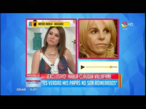 Claudia Villafañe le contestó a Maradona: No voy a salir a hablar en contra del padre de mis hijas