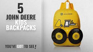 Best John Deere Kids Backpacks [2018]: John Deere Boys' Toddler Backpack, Yellow