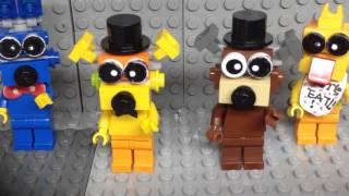 Just gold Lego Fnaf animation